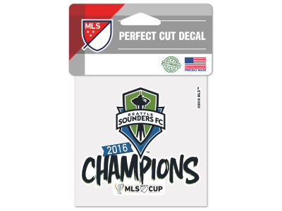 Seattle Sounders FC 4x4 Die Cut Decal