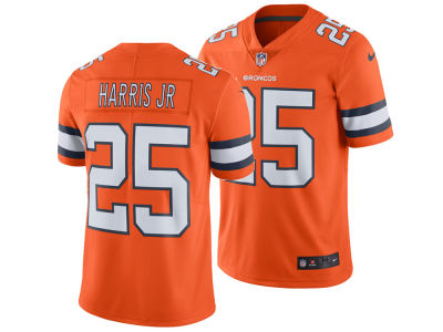 Denver Broncos Chris Harris Jr. Nike NFL Men's Limited Color Rush Jersey