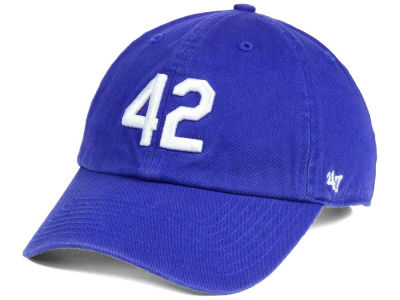Brooklyn Dodgers Jackie Robinson '47 CLEAN UP Cap