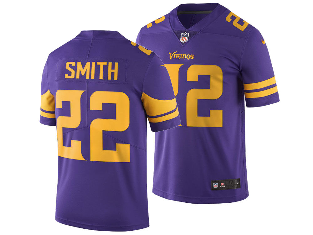 ab175f3ac ... 22 nfl drift fashion c3c65 066d9  france minnesota vikings harrison  smith nike nfl mens limited color rush jersey 0d402 13db4