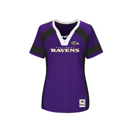 Baltimore Ravens Majestic 2017 NFL Women's Draft Me T-Shirt