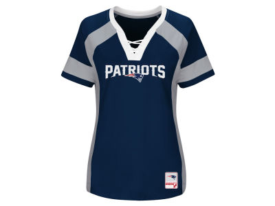 New England Patriots Majestic 2017 NFL Women's Draft Me T-Shirt