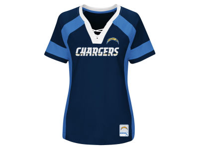 Los Angeles Chargers Majestic 2017 NFL Women's Draft Me T-Shirt