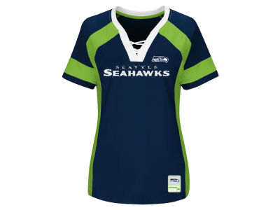 Seattle Seahawks Majestic 2017 NFL Women's Draft Me T-Shirt