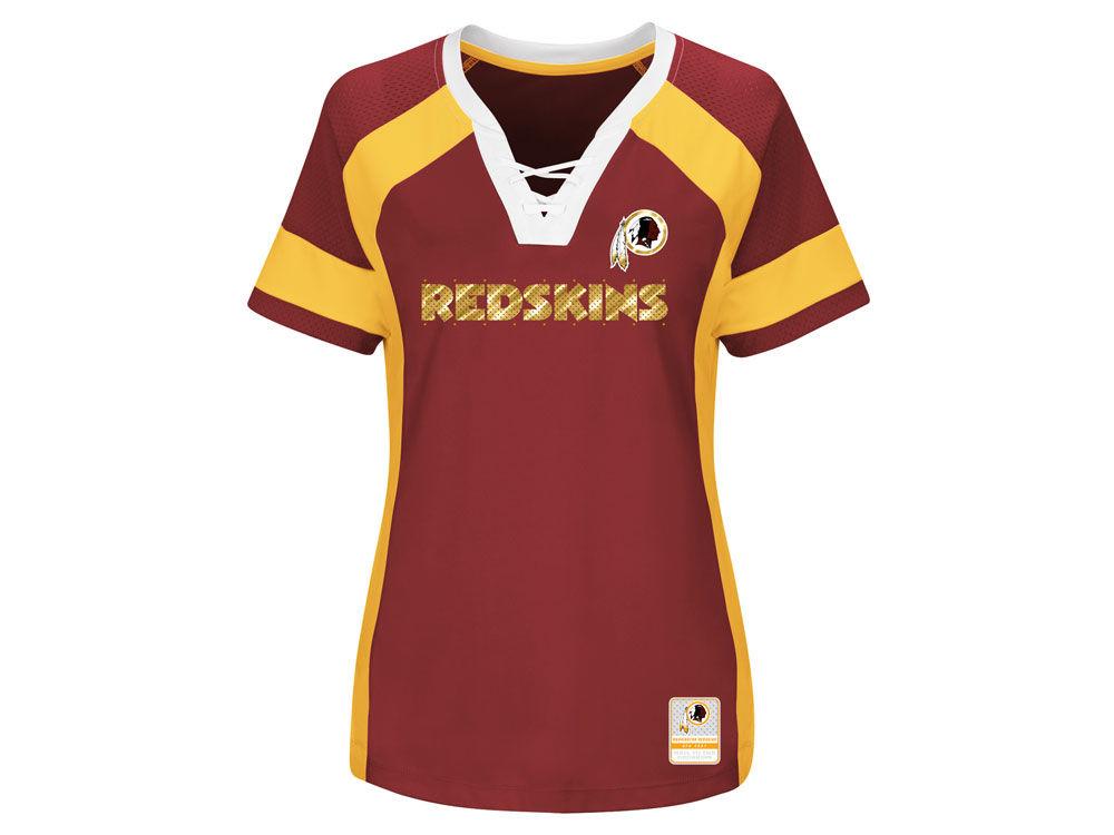 Washington Redskins Majestic 2017 NFL Women s Draft Me T-Shirt ... 17709478f