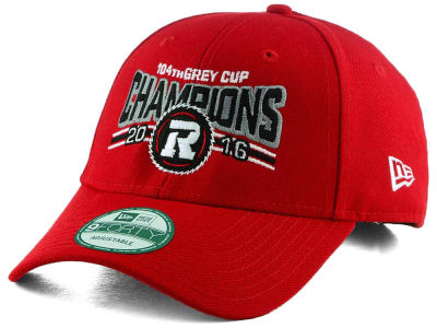 Ottawa RedBlacks New Era Grey Cup 2016 Champs 9FORTY Adjustable Cap