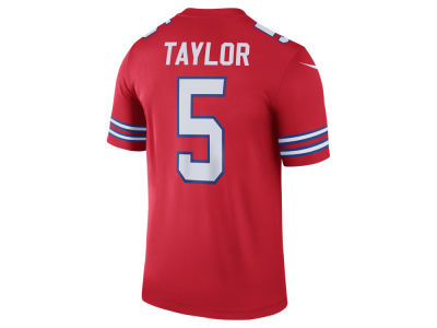 Buffalo Bills Tyrod Taylor NFL Men's Legend Color Rush Jersey