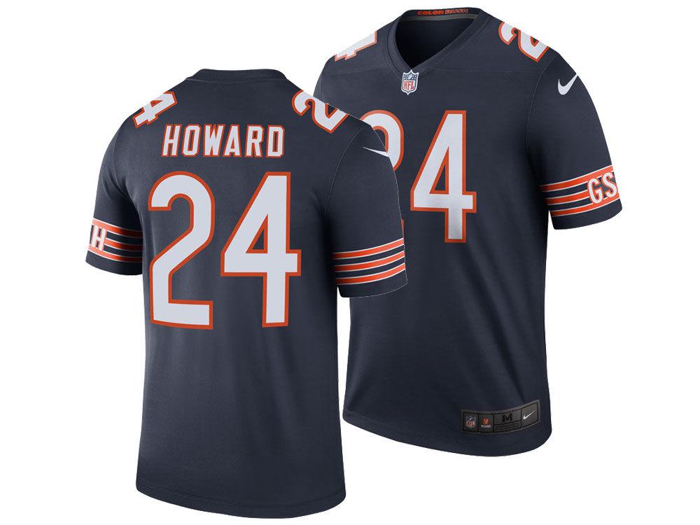 Chicago Bears Jordan Howard Nike NFL Men s Legend Color Rush Jersey ... 9d75ddb621ab