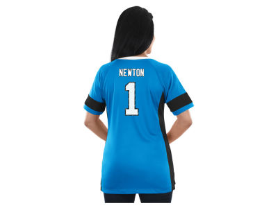 Carolina Panthers Majestic NFL 2017 Women's Draft Him T-Shirt