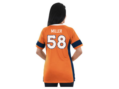 Denver Broncos Majestic NFL 2017 Women's Draft Him T-Shirt