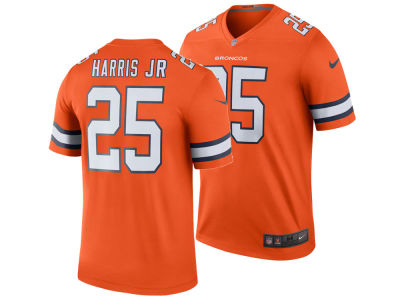 Denver Broncos Chris Harris Jr. Nike NFL Men's Legend Color Rush Jersey
