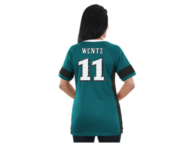 Philadelphia Eagles Majestic NFL 2017 Women's Draft Him T-Shirt