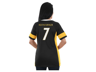 Pittsburgh Steelers Majestic NFL 2017 Women's Draft Him T-Shirt