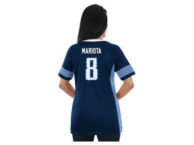 Tennessee Titans Majestic NFL 2017 Women's Draft Him T-Shirt