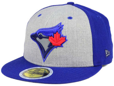 Toronto Blue Jays New Era MLB Heather Team Reflective 59FIFTY Cap