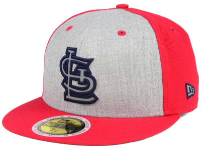 St. Louis Cardinals New Era MLB Heather Team Reflective 59FIFTY Cap