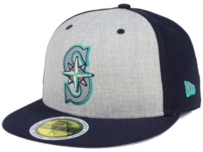brand new d5bd7 18b40 sweden seattle mariners new era mlb heather team reflective 59fifty cap  b216c 998f1