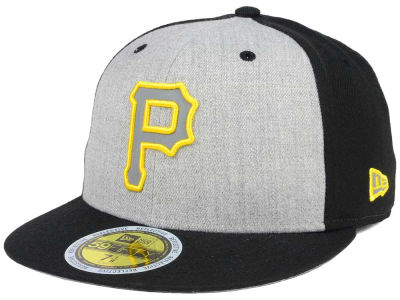 Pittsburgh Pirates New Era MLB Heather Team Reflective 59FIFTY Cap