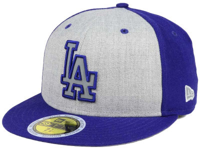 Los Angeles Dodgers New Era MLB Heather Team Reflective 59FIFTY Cap