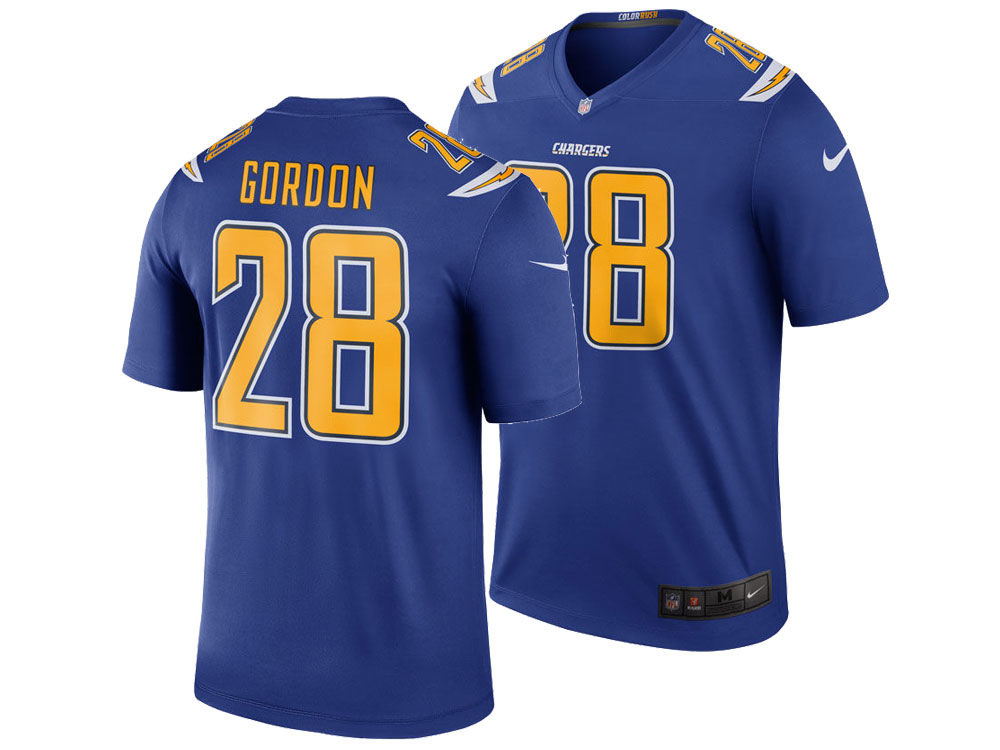 Los Angeles Chargers Melvin Gordon Nike NFL Men s Legend Color Rush Jersey   812b1eb60