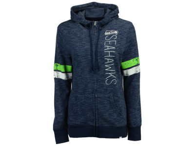 Seattle Seahawks Majestic NFL Women's Athletic Tradition Full Zip Hoodie