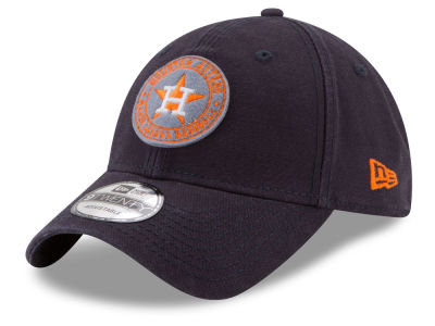 Houston Astros New Era MLB Varsity 9TWENTY Strapback Cap