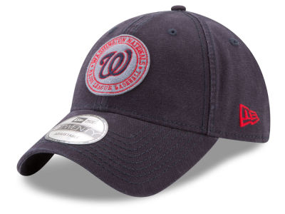 Washington Nationals New Era MLB Varsity 9TWENTY Strapback Cap