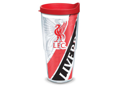 Liverpool FC Tervis 24oz All Over Colossal Wrap Tumbler