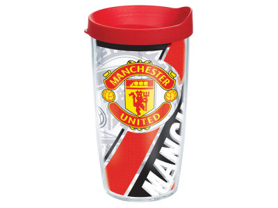 Manchester United 16oz. Colossal Wrap Tumbler with Lid