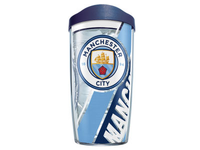 Manchester City 16oz. Colossal Wrap Tumbler with Lid