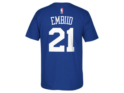 Philadelphia 76ers Joel Embiid  adidas NBA Men's Player T-Shirt