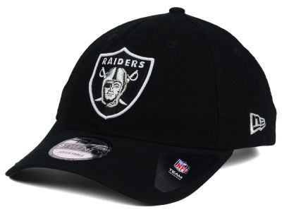 Oakland Raiders New Era NFL Core Shore 9TWENTY Strapback Cap