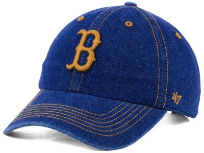 Boston Red Sox '47 MLB All Denim '47 CLEAN UP Cap