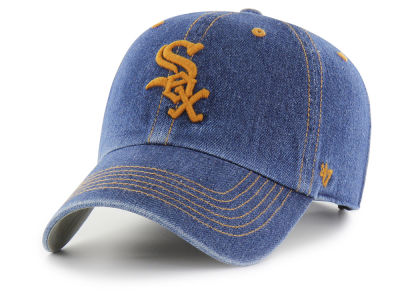 Chicago White Sox '47 MLB All Denim CLEAN UP Cap