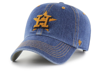Houston Astros '47 MLB All Denim '47 CLEAN UP Cap