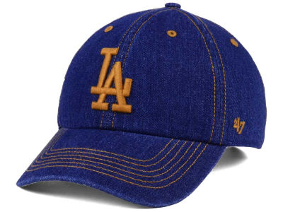Los Angeles Dodgers '47 MLB All Denim '47 CLEAN UP Cap