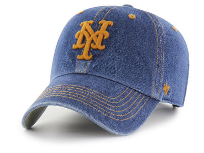 New York Mets '47 MLB All Denim '47 CLEAN UP Cap