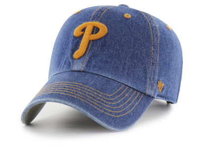 Philadelphia Phillies '47 MLB All Denim CLEAN UP Cap