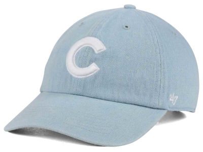 Chicago Cubs '47 MLB All Denim '47 CLEAN UP Cap