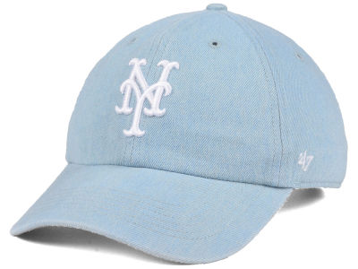 New York Mets '47 MLB All Denim CLEAN UP Cap
