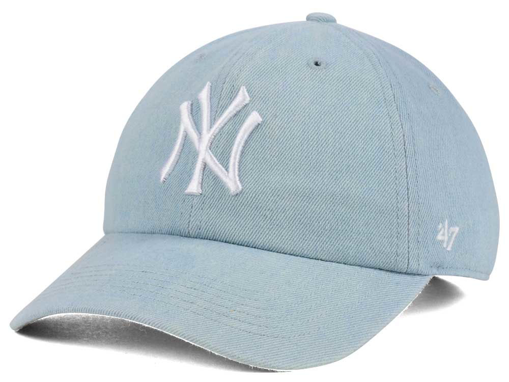 e906b52fbec New York Yankees  47 MLB All Denim  47 CLEAN UP Cap
