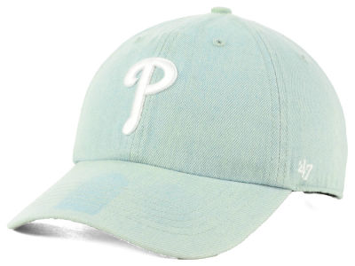 Philadelphia Phillies '47 MLB All Denim '47 CLEAN UP Cap
