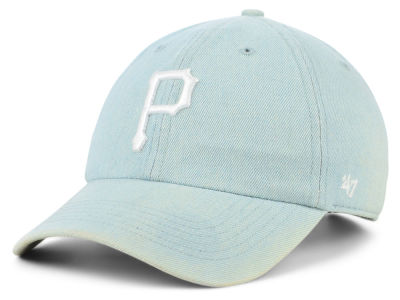 Pittsburgh Pirates '47 MLB All Denim '47 CLEAN UP Cap