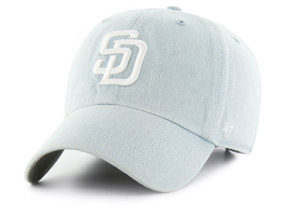 San Diego Padres '47 MLB All Denim CLEAN UP Cap