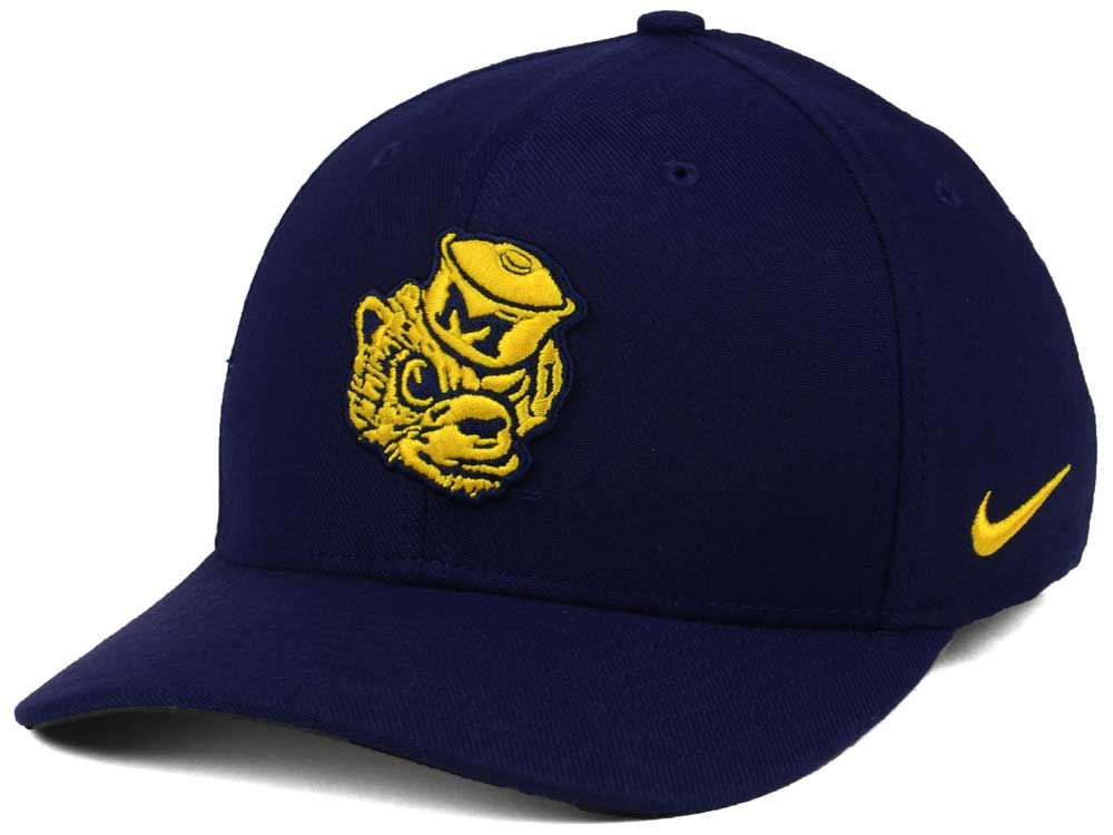 sale retailer 2b223 d14e0 ... cheap michigan wolverines nike ncaa vault swoosh flex cap 18acf 18dbe