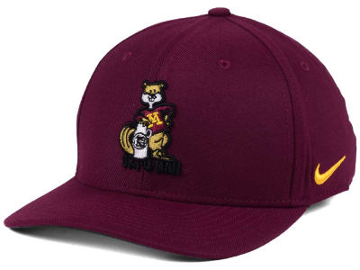 Minnesota Golden Gophers Nike NCAA Vault Swoosh Flex Cap