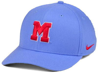 Ole Miss Rebels Nike NCAA Vault Swoosh Flex Cap