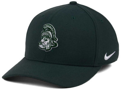 Michigan State Spartans Nike NCAA Vault Swoosh Flex Cap
