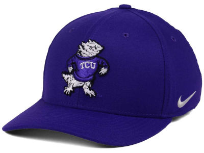 Texas Christian Horned Frogs Nike NCAA Vault Swoosh Flex Cap