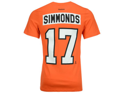 Philadelphia Flyers Wayne Simmonds Reebok NHL Men's Player T-Shirt
